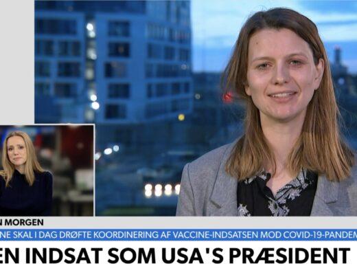 Joe Biden indsættelsestale analyse i TV Avisen af taleskriver Trine Bitsch